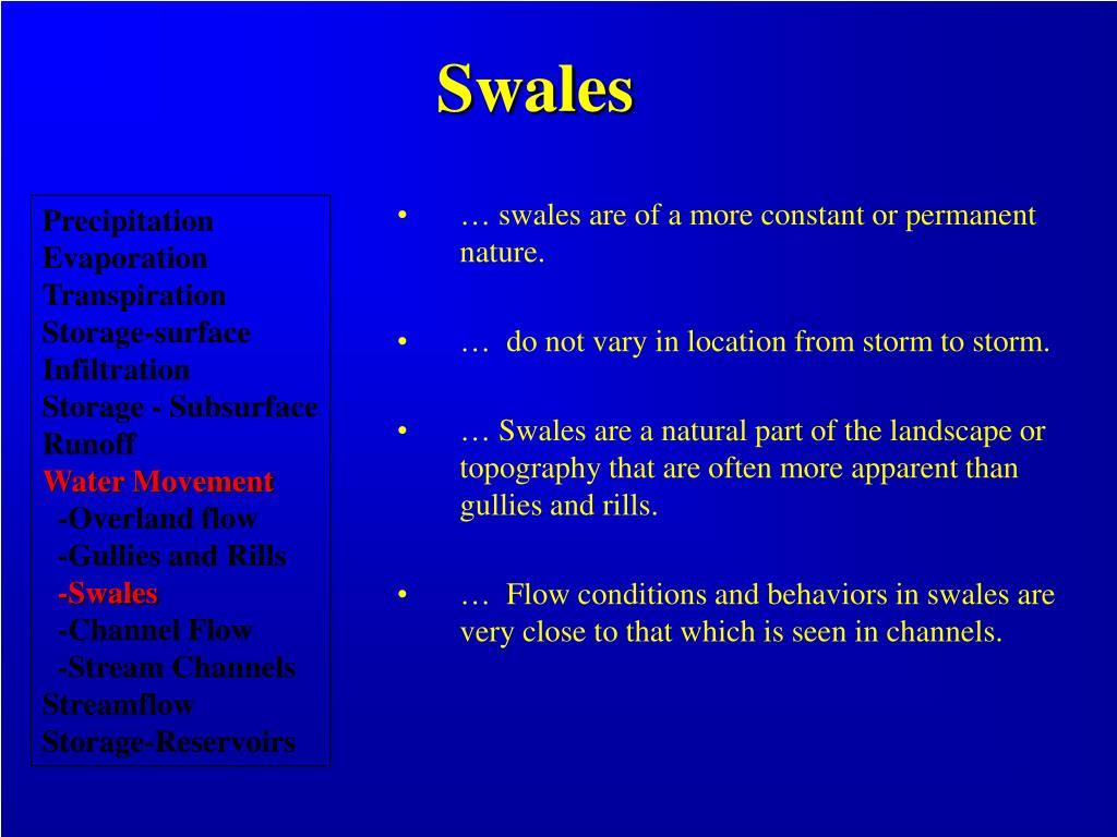 Swales