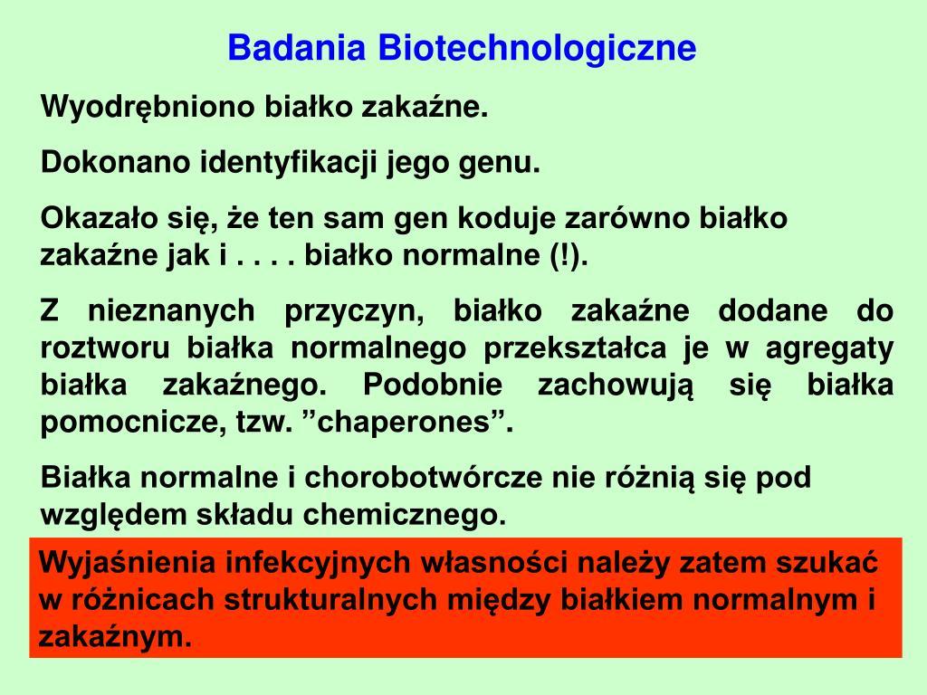 Badania Biotechnologiczn