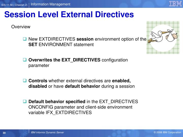 Session Level External Directives