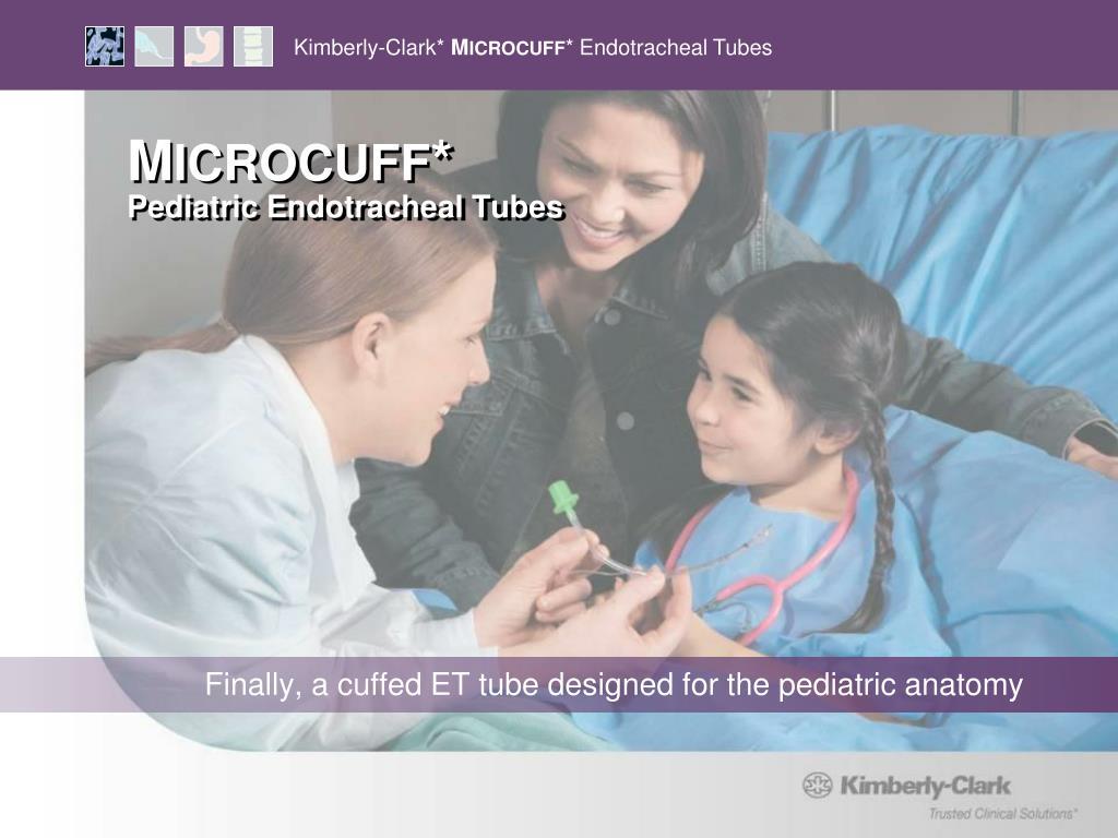 m icrocuff pediatric endotracheal tubes