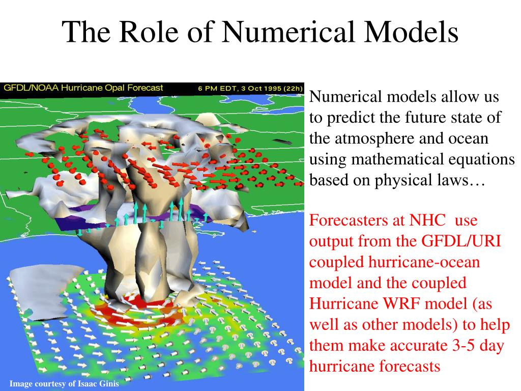The Role of Numerical Models