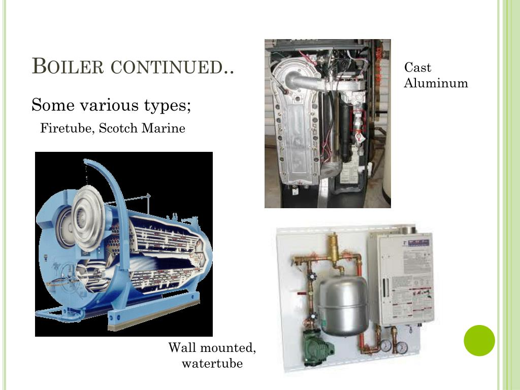 Boiler continued..