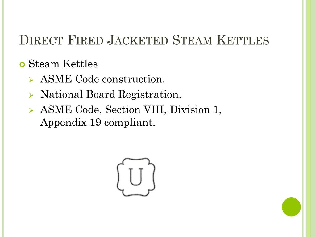 Direct Fired Jacketed Steam Kettles