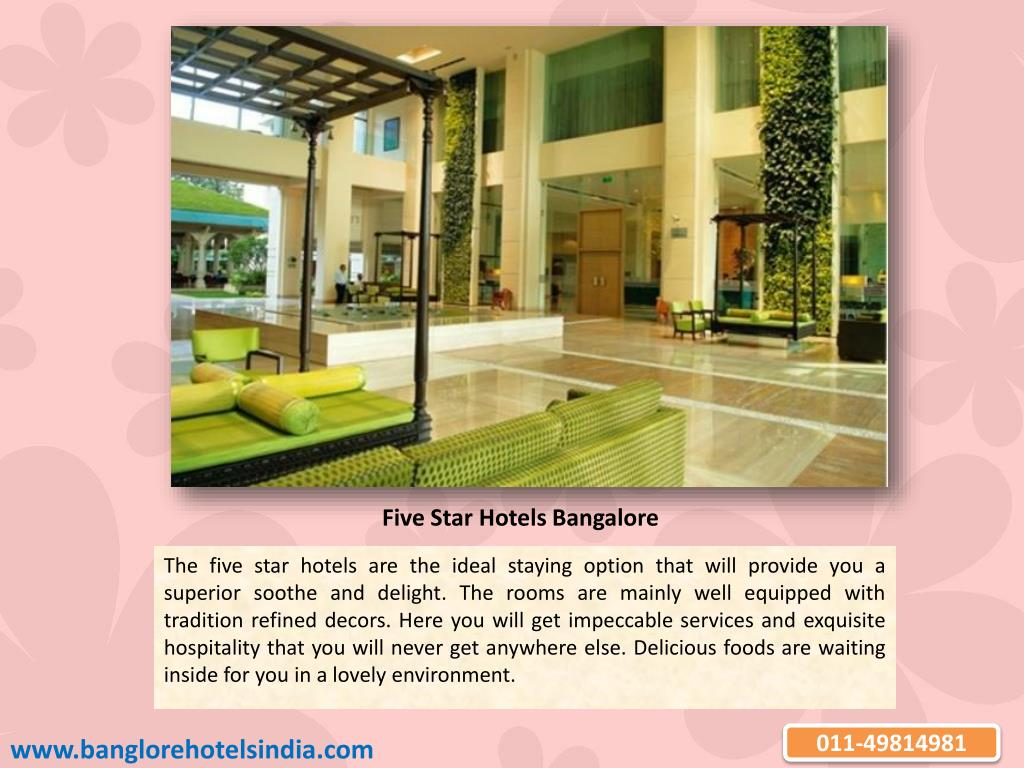 Five Star Hotels Bangalore