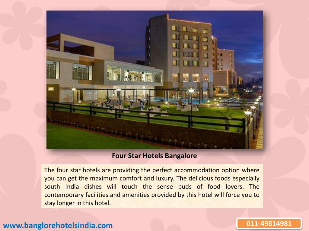 Four Star Hotels Bangalore