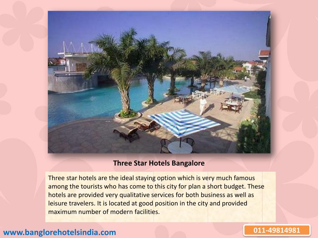 Three Star Hotels Bangalore