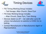timing devices