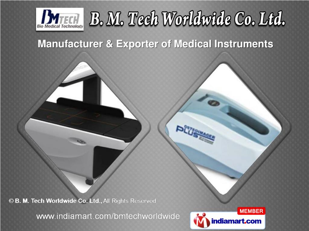 Manufacturer & Exporter of Medical Instruments