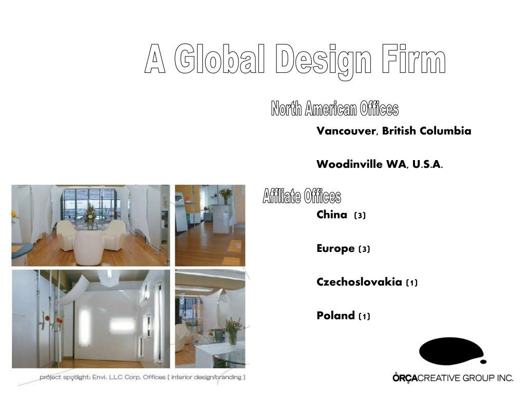 A Global Design Firm