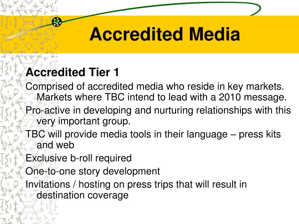 Accredited Media