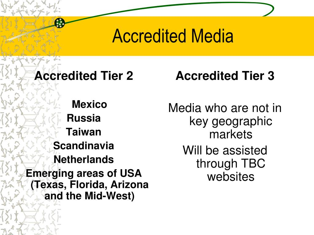 Accredited Tier 2