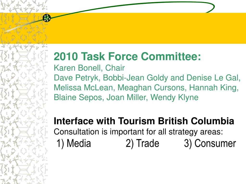 2010 Task Force Committee: