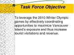 task force objective