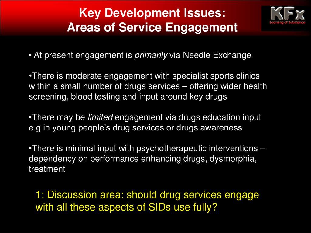 Key Development Issues: