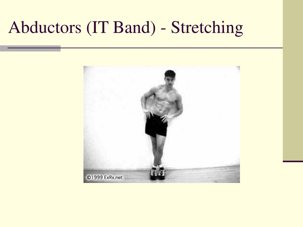 Abductors (IT Band) - Stretching