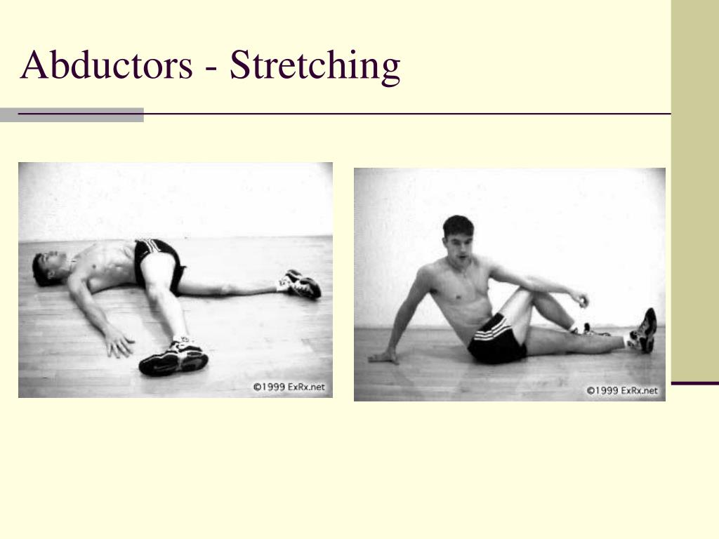 Abductors - Stretching