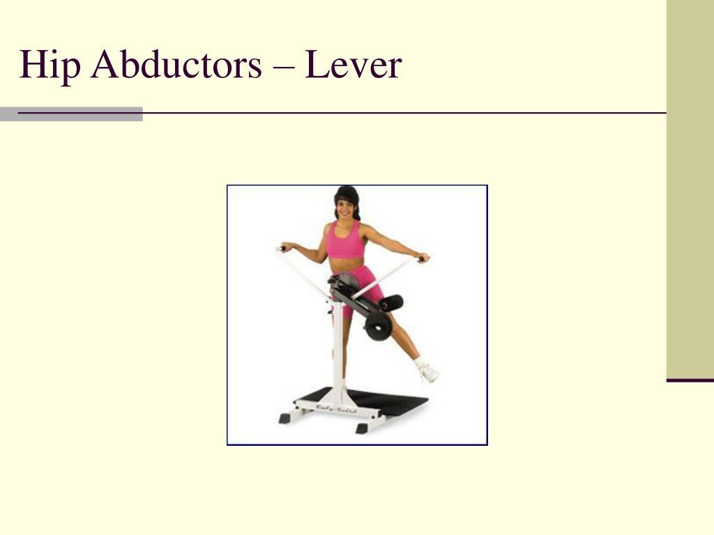 Hip Abductors – Lever