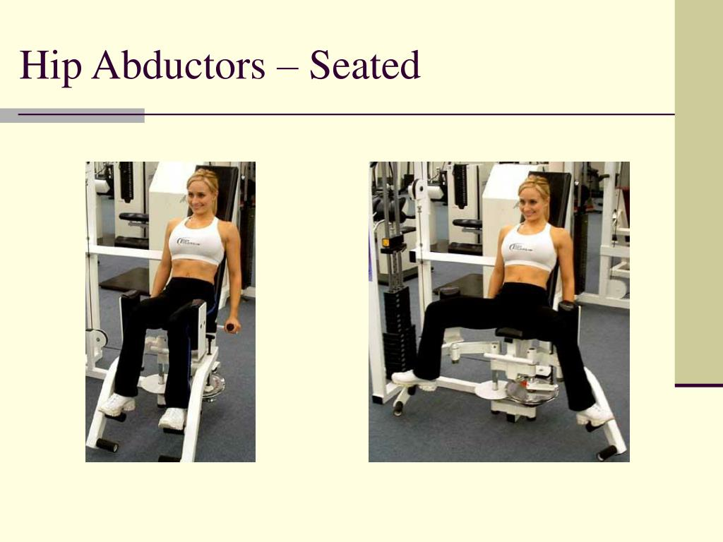 Hip Abductors – Seated
