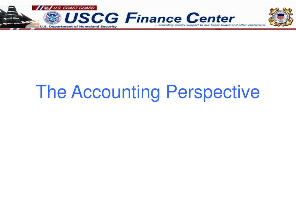 The Accounting Perspective