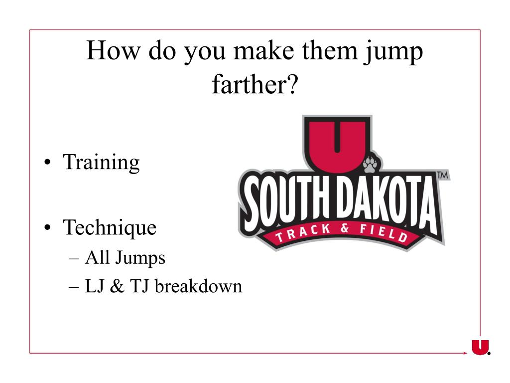 How do you make them jump farther?