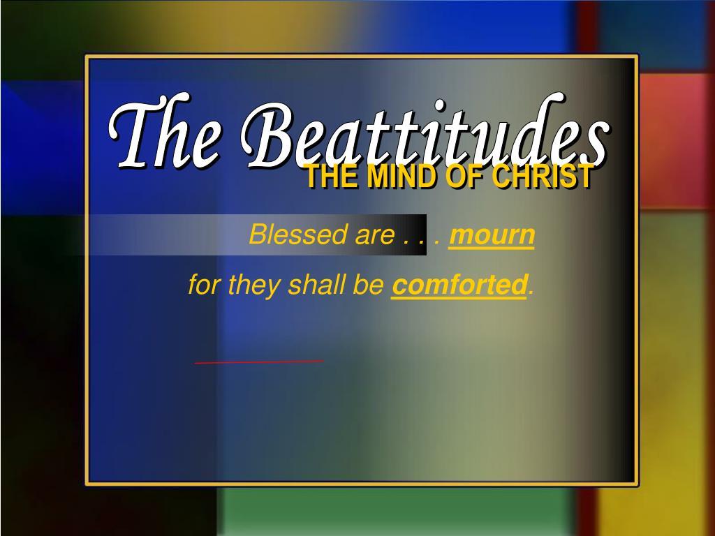 The Beattitudes