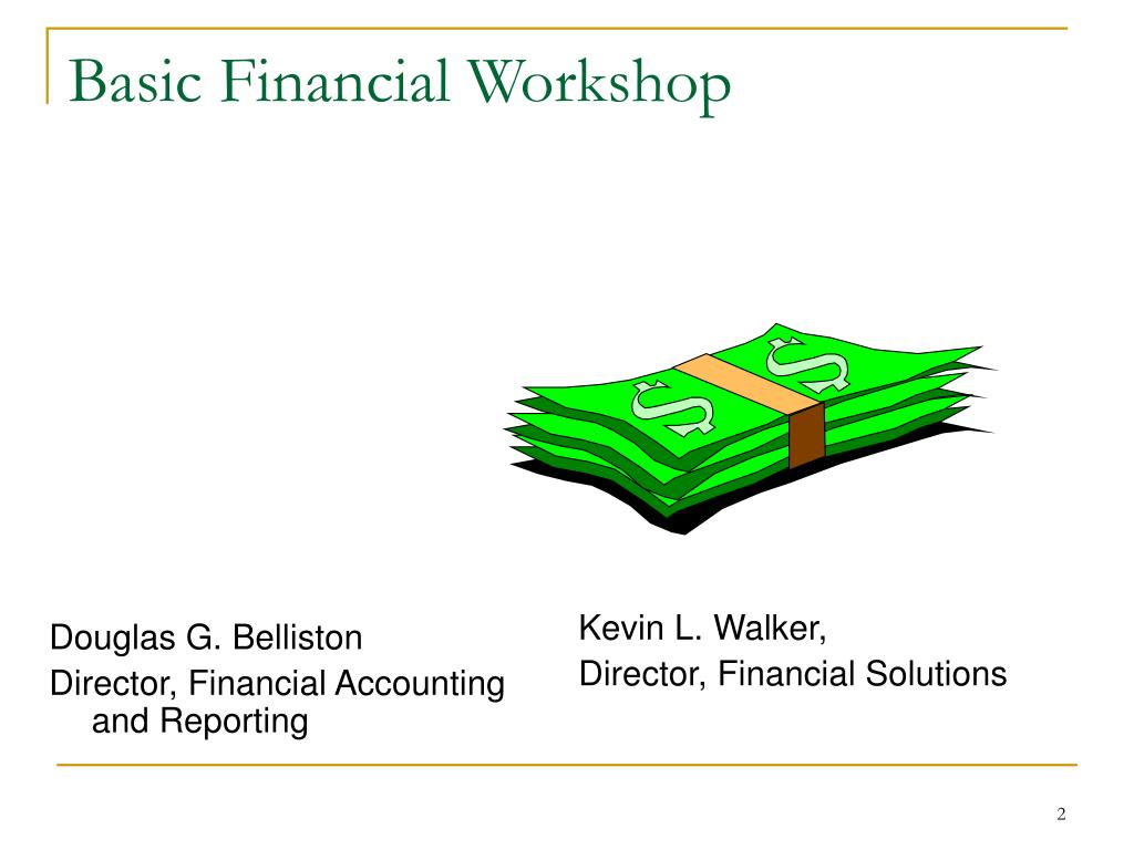 Basic Financial Workshop