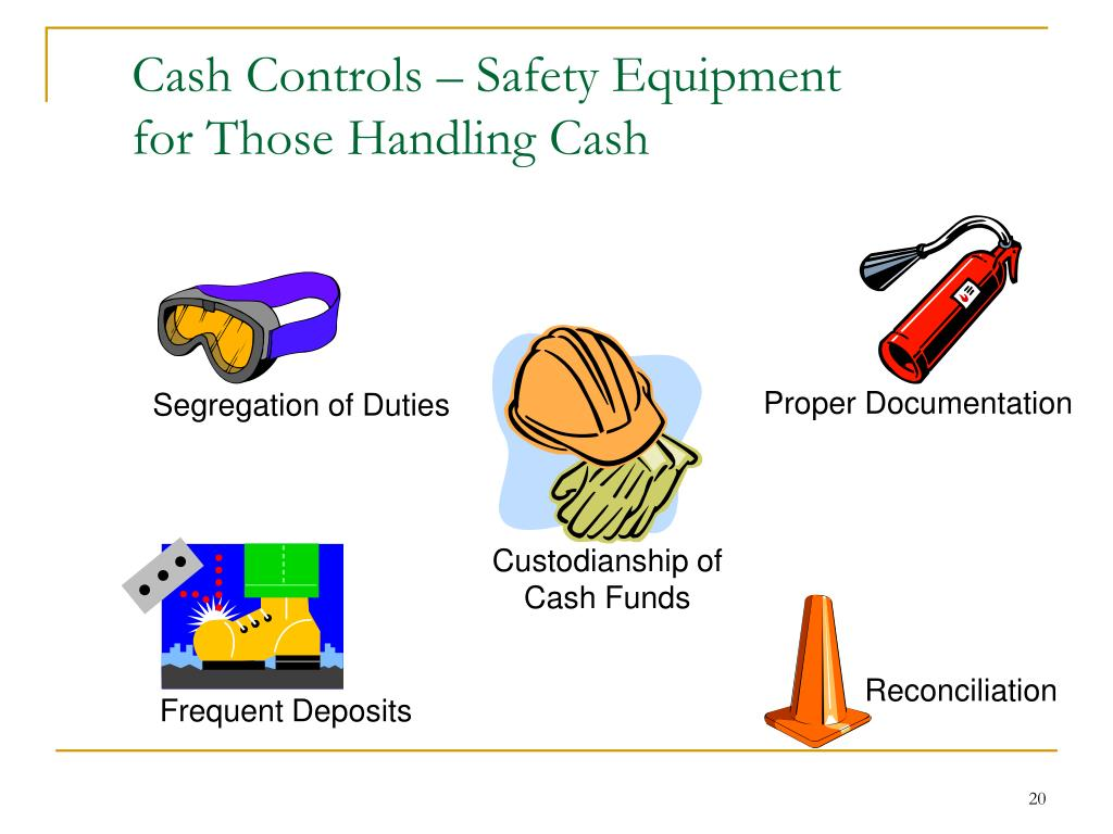 Cash Controls – Safety Equipment