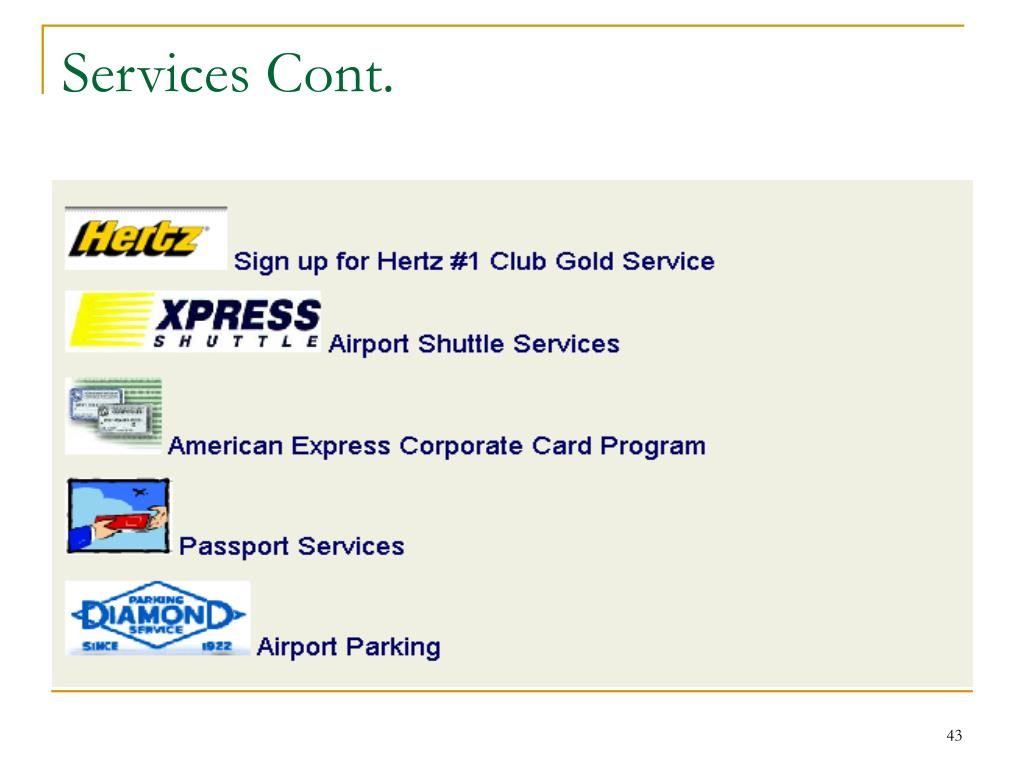 Services Cont.