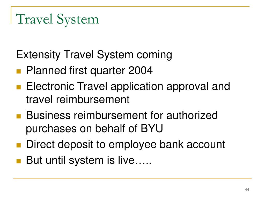 Travel System