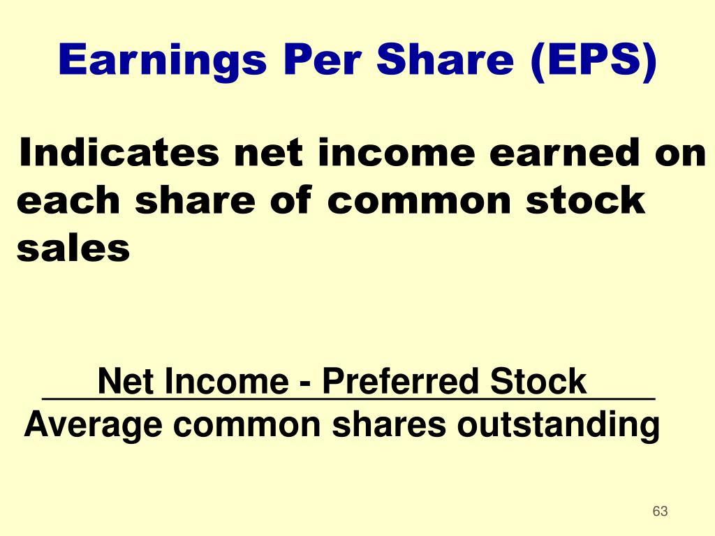 Net Income - Preferred Stock