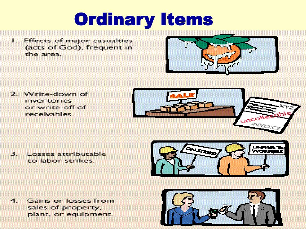 Ordinary Items