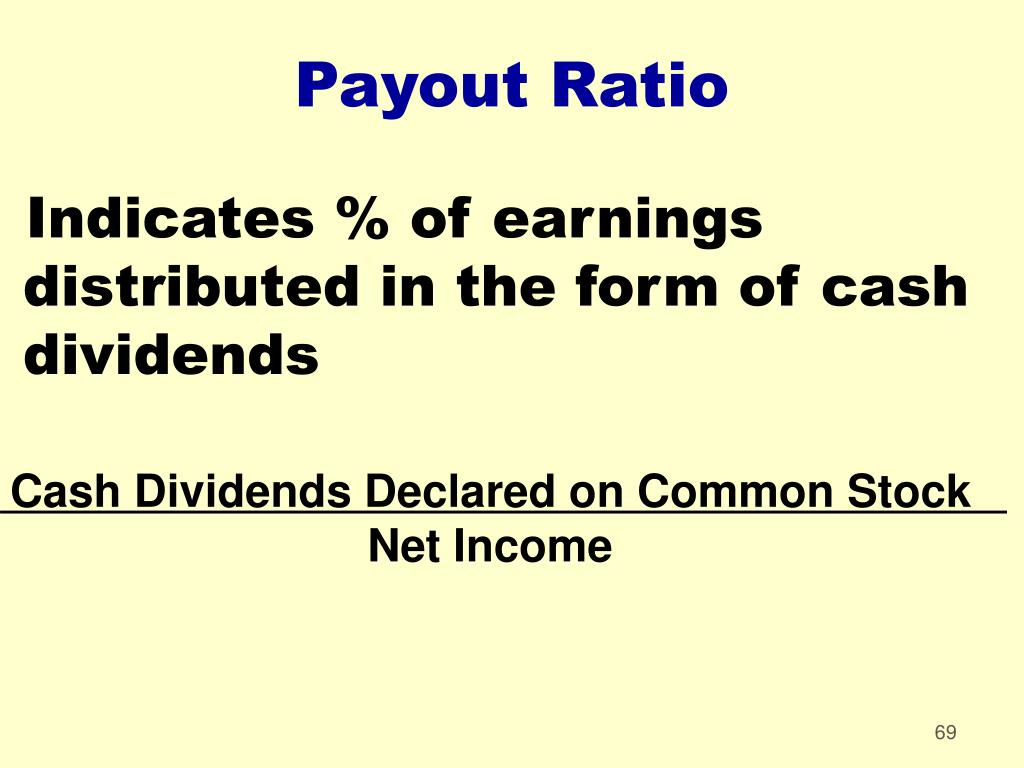 Cash Dividends Declared on Common Stock