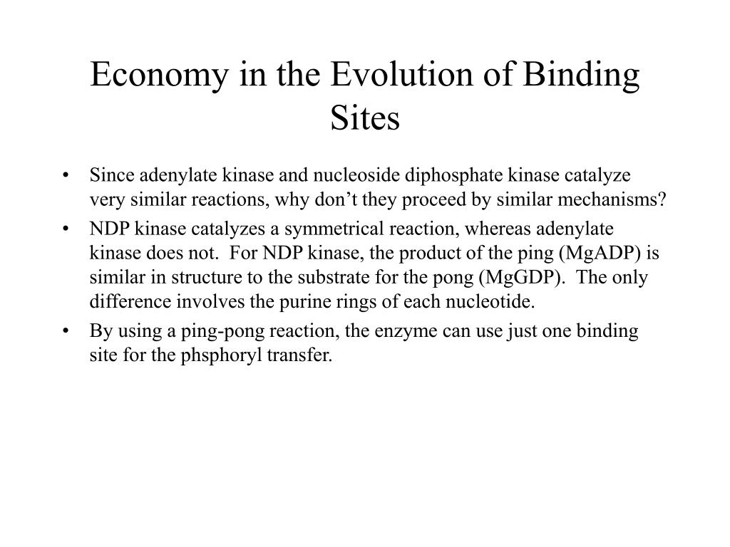 Economy in the Evolution of Binding Sites