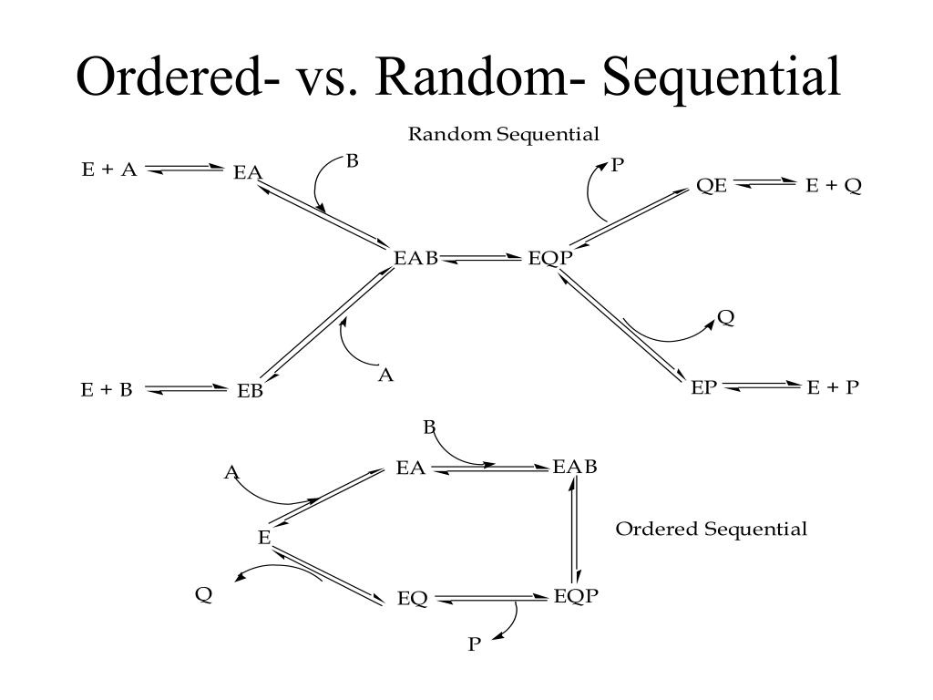 Ordered- vs. Random- Sequential