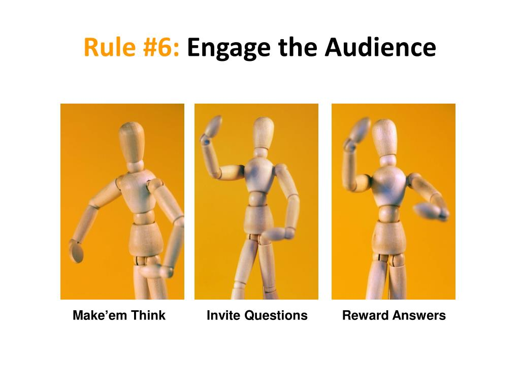 Rule #6: