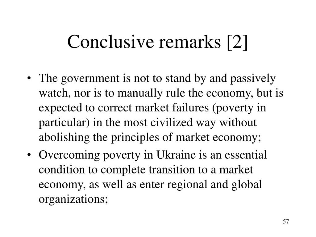 Conclusive remarks [2]