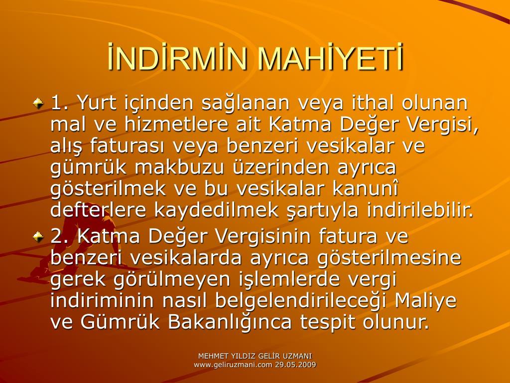 NDRMN MAHYET