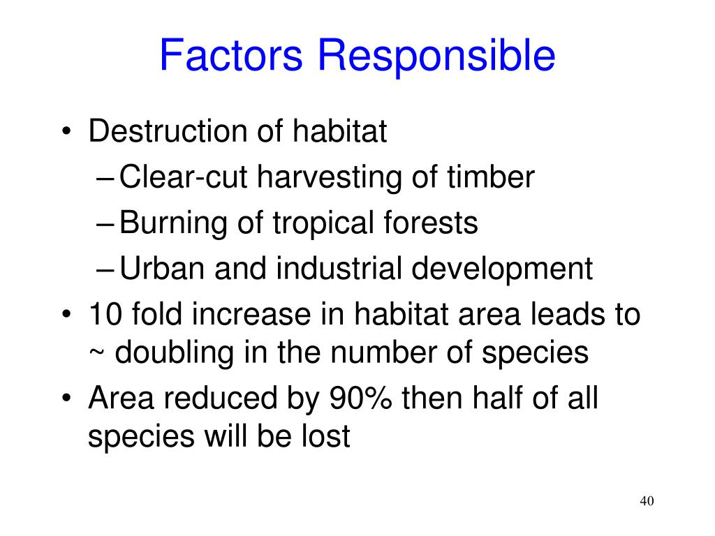 Factors Responsible