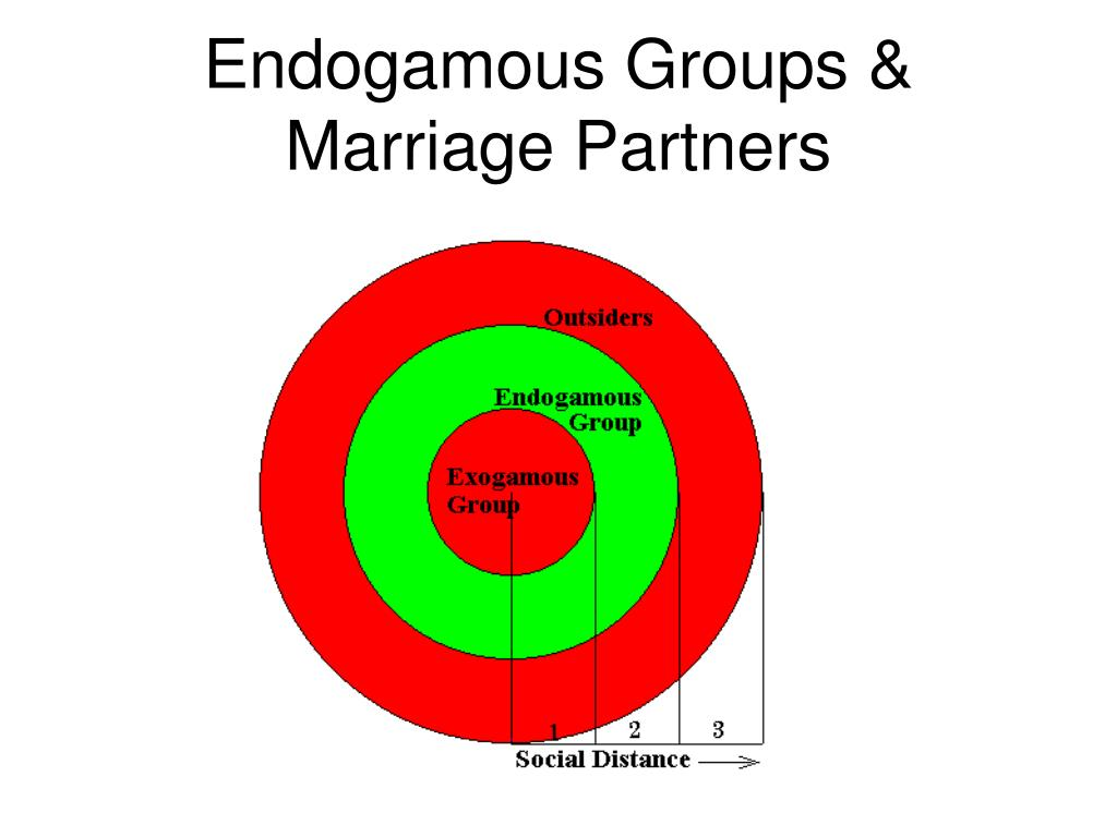 Endogamous Groups & Marriage Partners