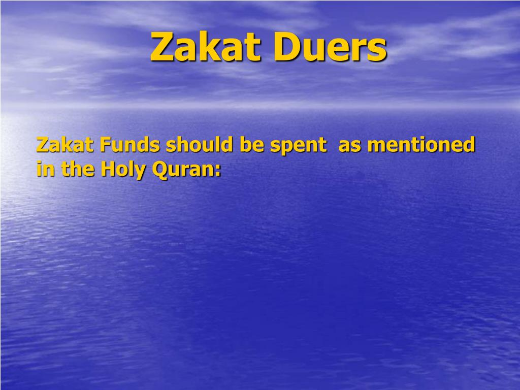 Zakat Duers