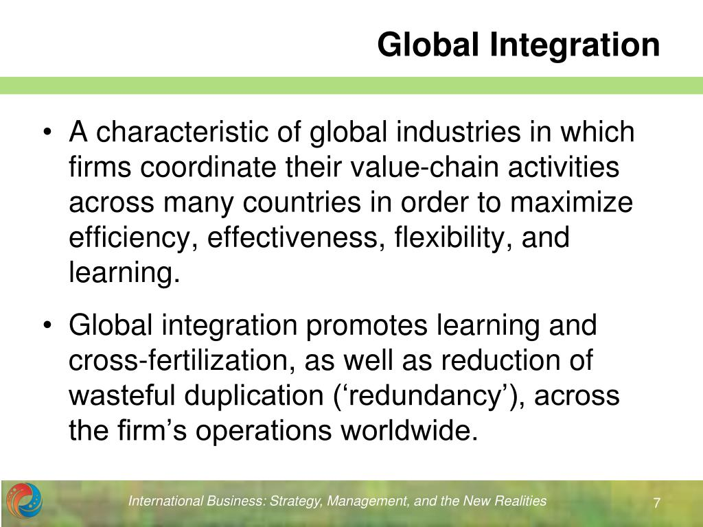 Globally integrated enterprise