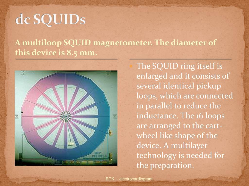 dc SQUIDs