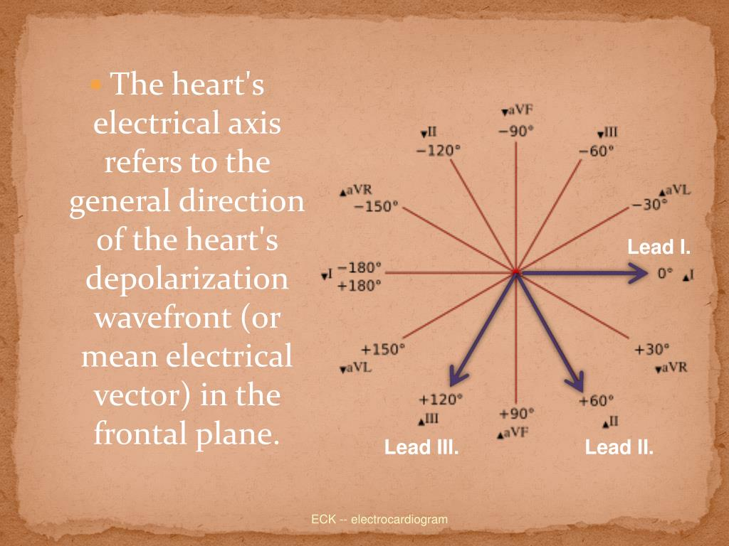 The heart's electrical axis refers to the general direction of the heart's depolarization wavefront (or mean electrical vector) in the frontal plane.