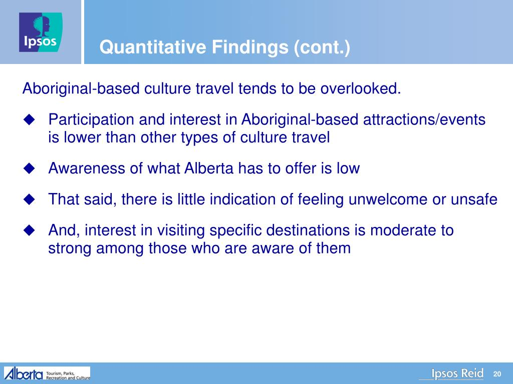 Quantitative Findings (cont.)