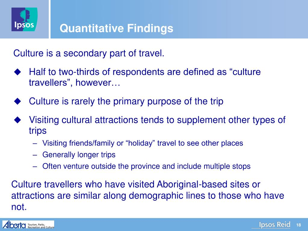 Quantitative Findings