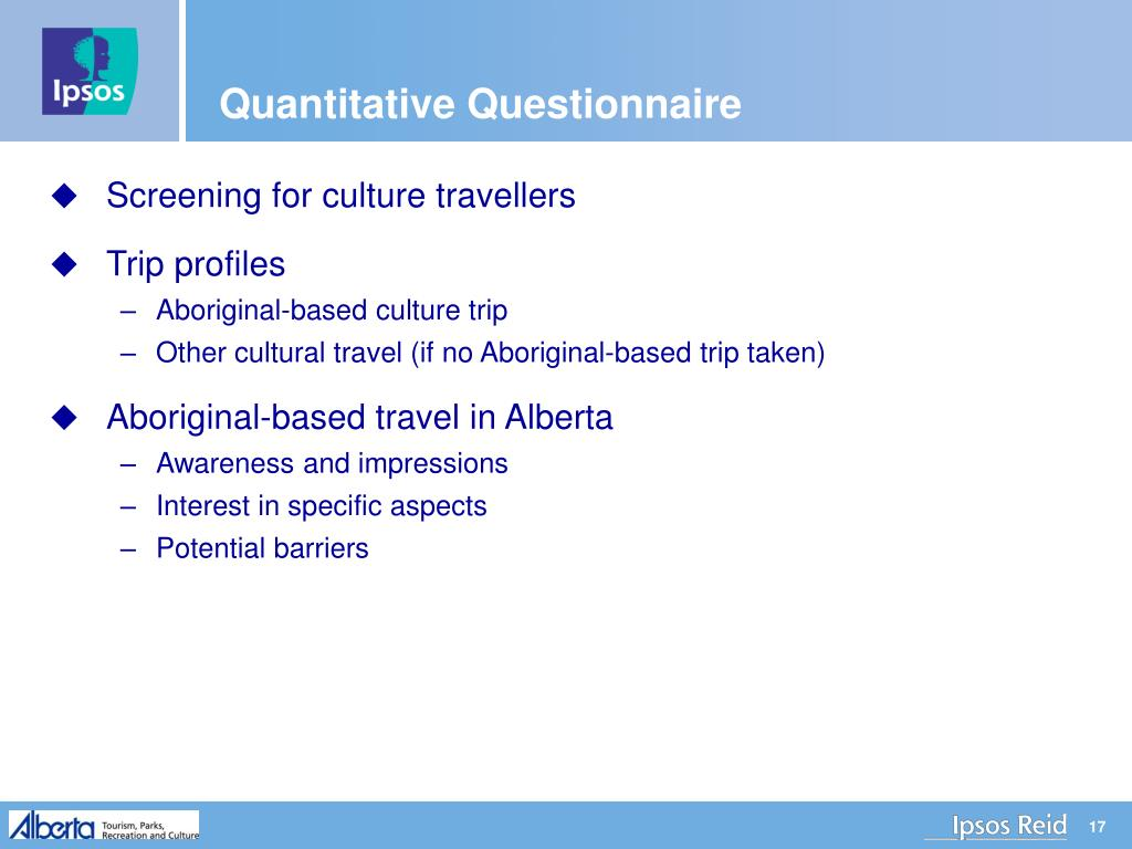 Quantitative Questionnaire