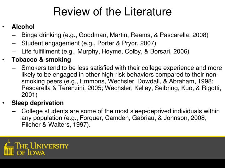 Review of the literature3 l.jpg