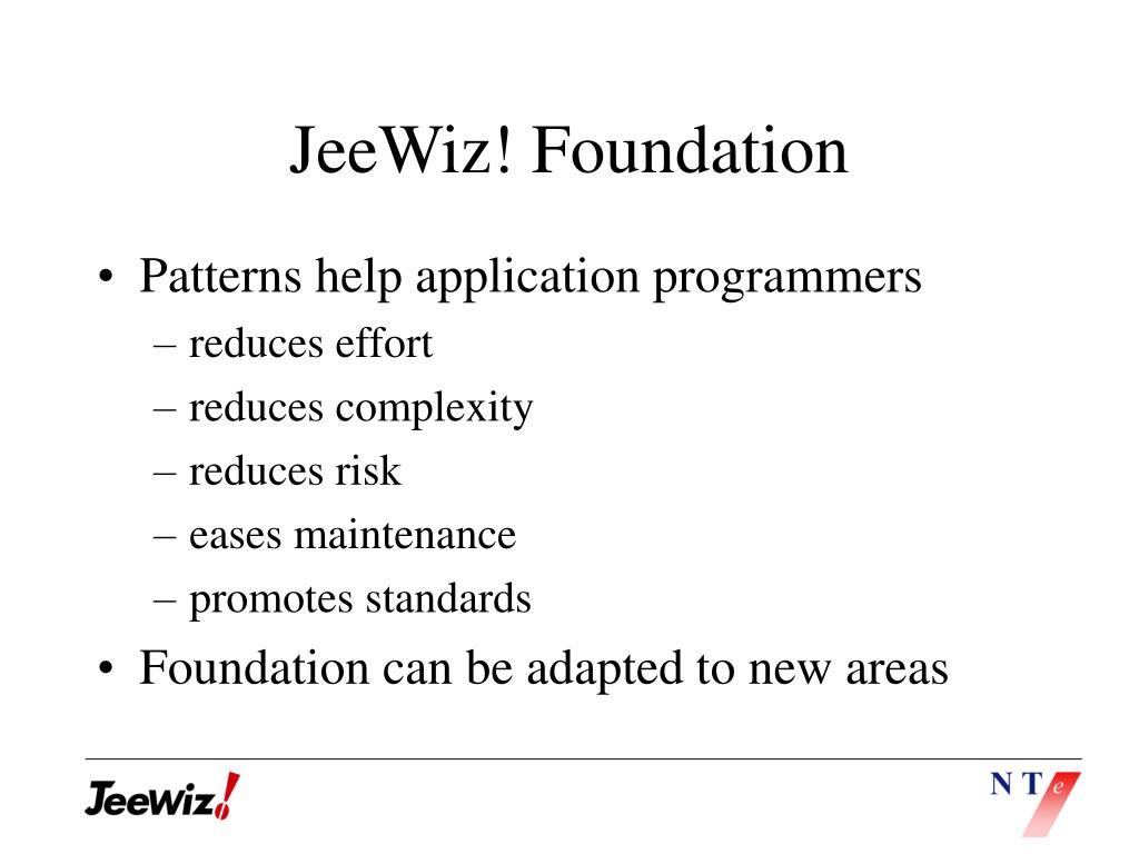 JeeWiz! Foundation