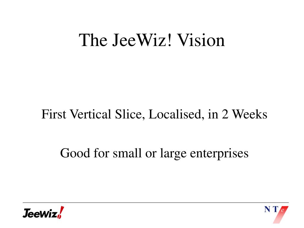 The JeeWiz! Vision