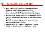 feeding the child with chf